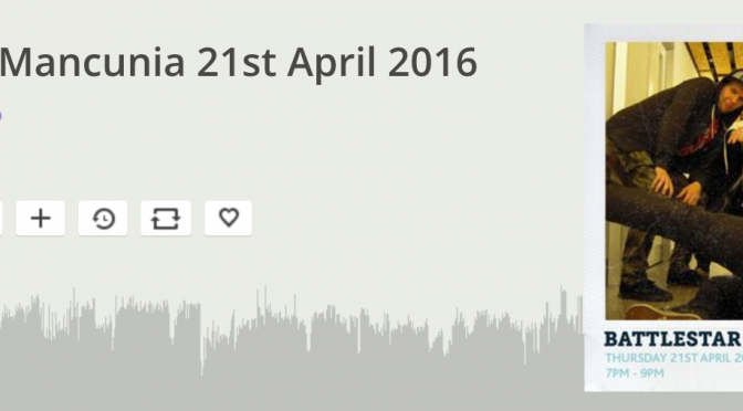 Listen back #26: 21st April 2016